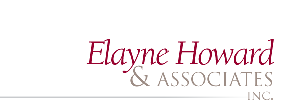 Elayne Howard & Associates, Inc. Retina Logo